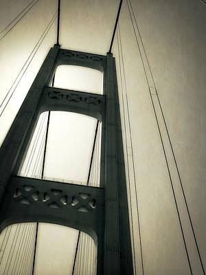 Michigan Mackinac Photograph - Mackinac Bridge 2.0 by Michelle Calkins