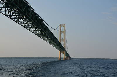 Photograph - Mackinac Bridge by Brett Geyer