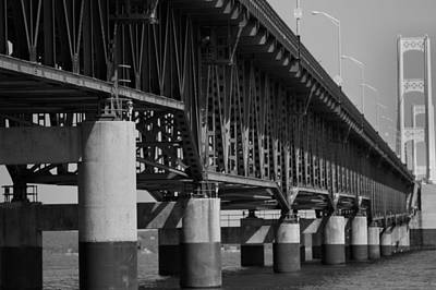 Photograph - Mackinac Bridge by Dan Sproul