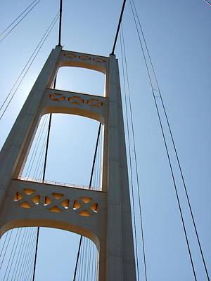 Mackinaw City Photograph - Mackinac Bridge by Michelle Calkins