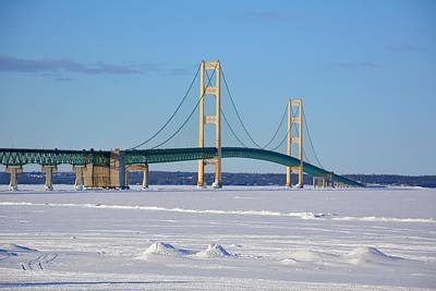 Photograph - Mackinac In March by Keith Stokes