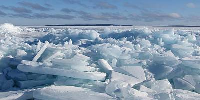 Photograph - Mackinac Island Across The Ice by Keith Stokes