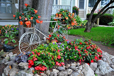 Mackinac Island Garden Art Print by Matthew Chapman