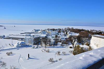 Photograph - Mackinac Island Winter by Keith Stokes