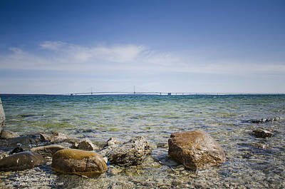 Photograph - Mackinac Waters by LeeAnn McLaneGoetz McLaneGoetzStudioLLCcom