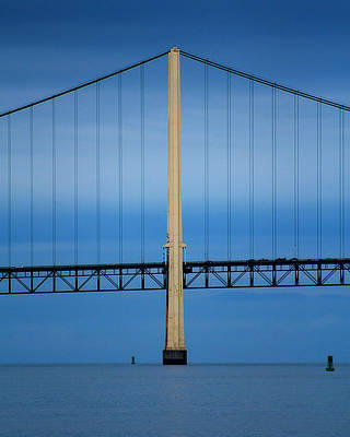 Photograph - Mackinaw Bridge 3 by Scott Hovind