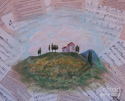 Tuscan Hills Mixed Media - Tuscan Hills by Tamyra Crossley
