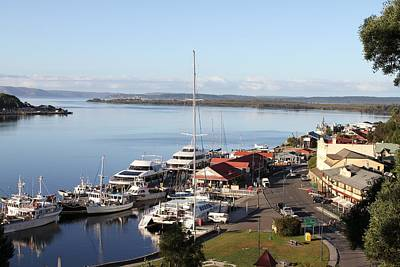 Macquarie Harbour Tasmania All Profits Go To Hospice Of The Calumet Area Art Print
