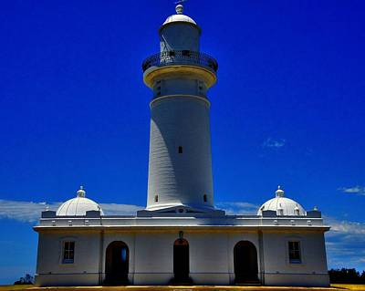 Photograph - Macquarie Lightstation by Peter Mooyman