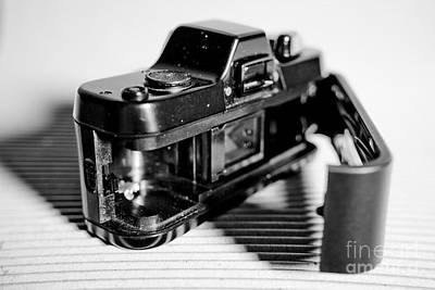 Pop Art - Macro Pentax 110 Dynamic BW 4 by Pittsburgh Photo Company