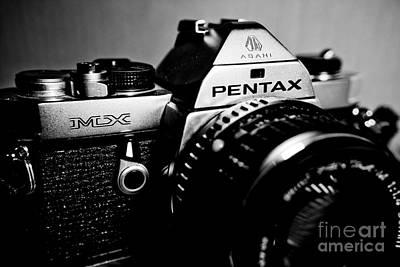Film Photograph - Macro Pentax Mx Dynamic Bw 2 by Pittsburgh Photo Company