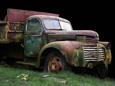 Photograph - Mac's Truck by Larry Hunter