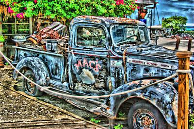 Mac's Truck Art Print
