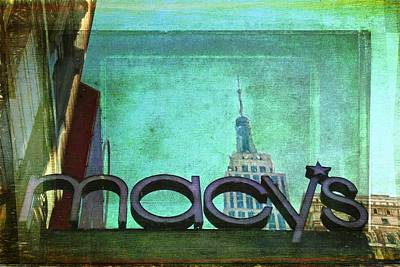 Photograph - Macys And Her Empire by Alice Gipson