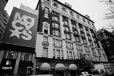 Macys Department Store New York City Art Print by Joe Fox