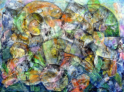 Painting - Flotsam 2 by Jim Whalen