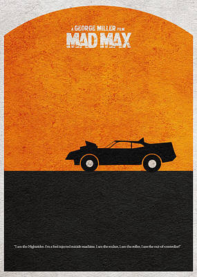 Mad Max Art Print by Ayse Deniz