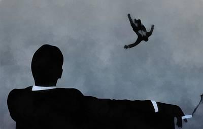 City Scenes Paintings - Mad Men Art by Dan Sproul