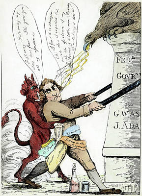 American Eagle Painting - Mad Tom In A Rage, 1801 by Granger