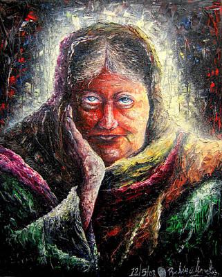 Madam Blavatsky Original by Ruben Santos