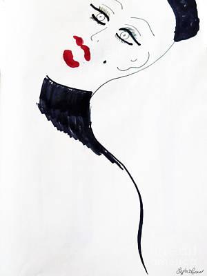 Drawing - Madam by Lyric Lucas