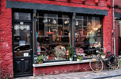 Storefront Artist Photograph - Madam Mim by John Rizzuto
