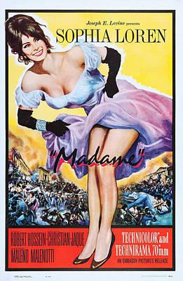 Madame, Aka Madame Sans-gene, Us Poster Art Print by Everett