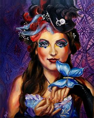 Painting - Madame Butterfly by Em Kotoul