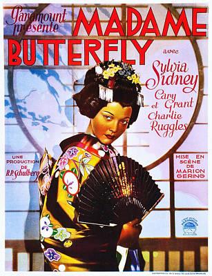 Madame Butterfly, Sylvia Sidney Art Print by Everett