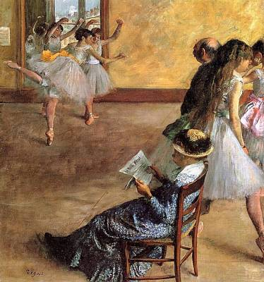 Madame Cardinal Art Print by Edgar Degas