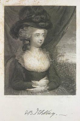 Madame D'arblay Art Print by British Library