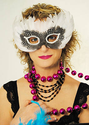 Artography Photograph - Madame Mardi Gras  by ARTography by Pamela Smale Williams