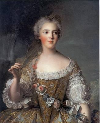 Madame Sophie Art Print by Jean-Marc Nattier