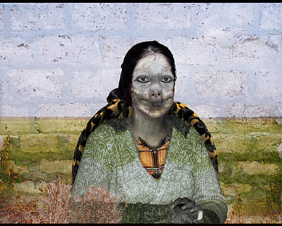 Mixed Media - Madame Tortue by Robert Sanders