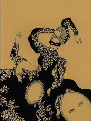 Drawing - Madame Zuzu, 2014 by Dariya Hlazatova
