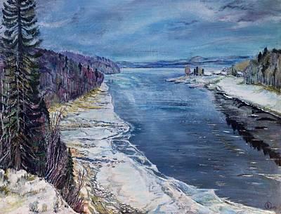 Painting - Madawaska by Iya Carson