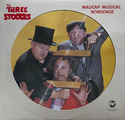 Three Stooges Photograph - Madcap Musical Nonsense by Official Three Stooges