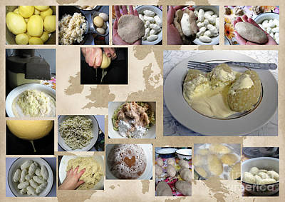 Photograph - Made In Lithuania... Cepelinai- Potato Dumplings by Ausra Huntington nee Paulauskaite