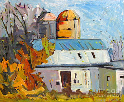 Indiana Landscapes Painting - Made In The Usa by Charlie Spear