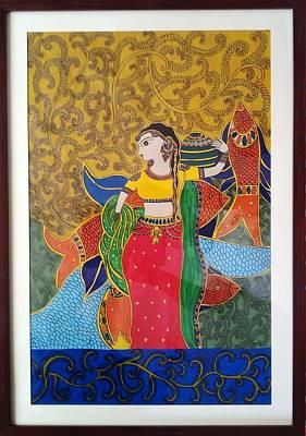 Madhubani Painting Original by Sonali Singh