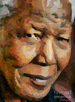Madiba Art Print by Dragica  Micki Fortuna