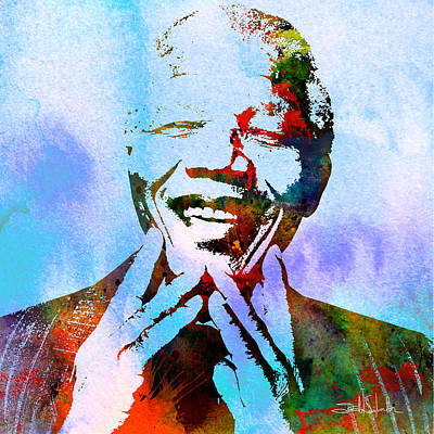 Madiba Print by Isabel Salvador