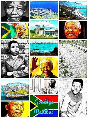 Digital Art - Madiba by Karen Buford