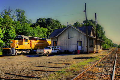 Photograph - Madison Georgia Historic Train Station by Reid Callaway