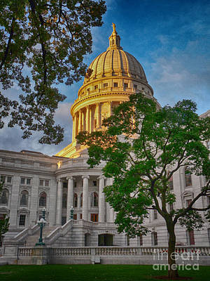 Photograph - Madison In The Morning by David Bearden