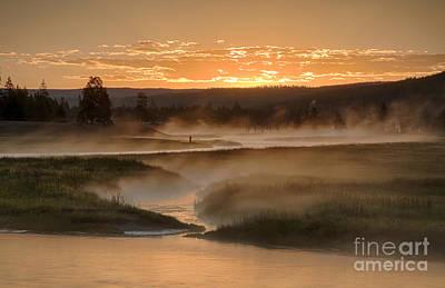 Photograph - Madison Mists by Idaho Scenic Images Linda Lantzy
