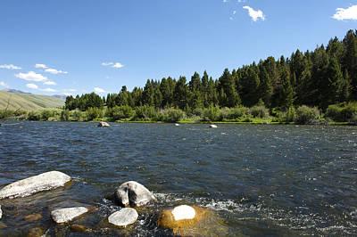 Bob Clark Photograph - Madison River by Bob Clark