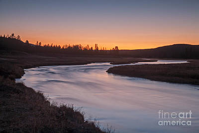 Photograph - Madison River In Yellowstone National Park by Fred Stearns