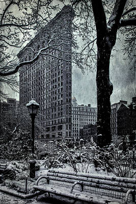 Madison Square And The Flatiron Building Art Print by Chris Lord