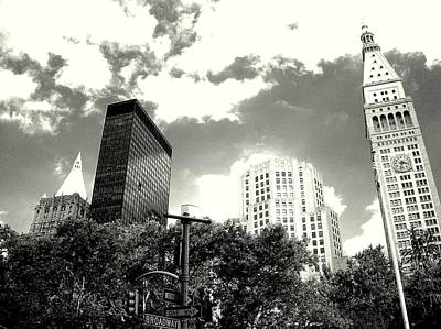 Photograph - 'madison Square Towers' by Liza Dey